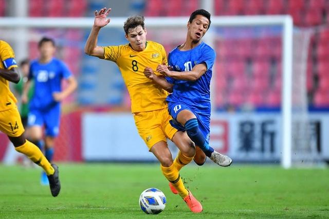 Đánh bại U23 Uzbekistan, U23 Australia giành vé dự Olympic 2020 - 5