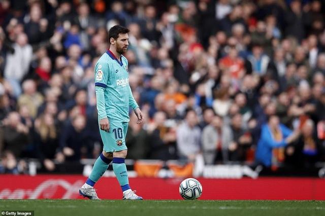 Messi gây thất vọng, Barcelona gục ngã trước Valencia - 8
