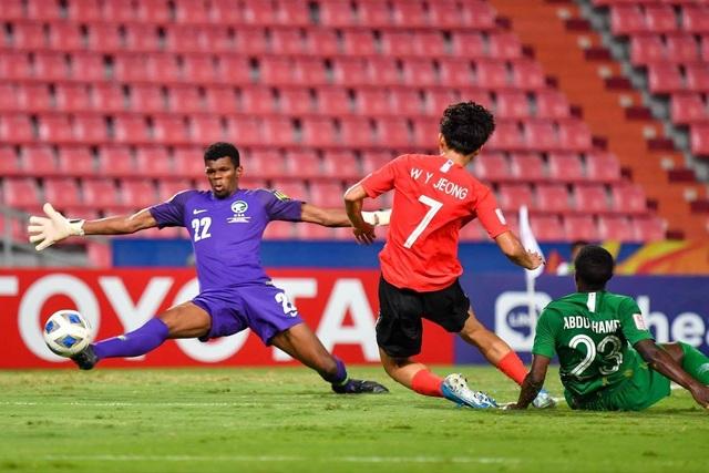 Những khoảnh khắc đưa U23 Hàn Quốc lên ngôi vô địch U23 châu Á - 9