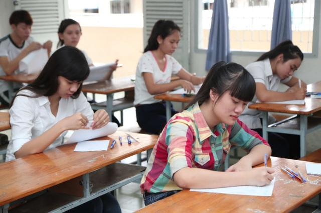 Sẽ có quy định với các trường tuyển sinh bằng phương thức thi tuyển - 1