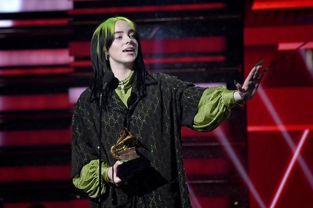 Billie Eilish thắng lớn tại lễ trao giải Grammy 2020 - 2