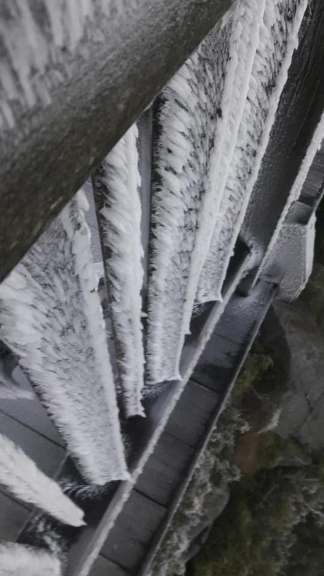 Băng tuyết phủ trắng Nóc nhà Việt Nam Fansipan - 9