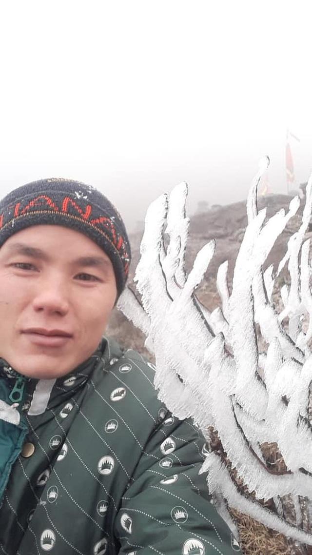 Băng tuyết phủ trắng Nóc nhà Việt Nam Fansipan - 1