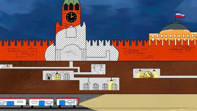 Những điều bí ẩn bên dưới điện Kremlin - 1