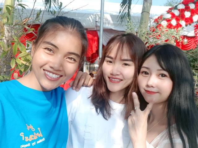 Tết ấm áp với các tuyển thủ bóng đá nữ Việt Nam - 2