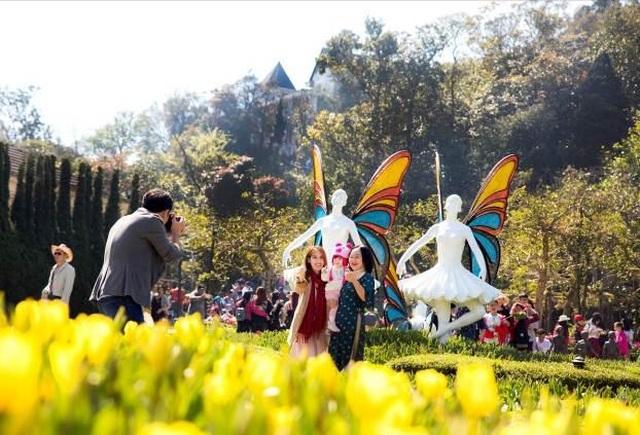Du xuân cực chất tại thiên đường hoa tulip Sun World Ba Na Hills - 3