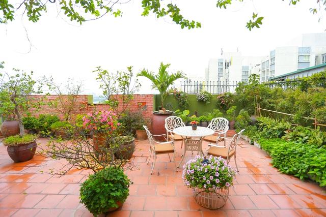Mê mẩn căn penthouse với khu vườn ngập cây xanh đẹp hiếm có ở Hưng Yên - 14