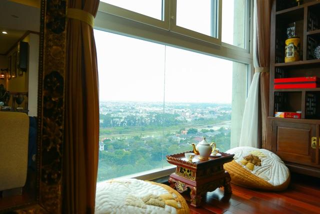 Mê mẩn căn penthouse với khu vườn ngập cây xanh đẹp hiếm có ở Hưng Yên - 18
