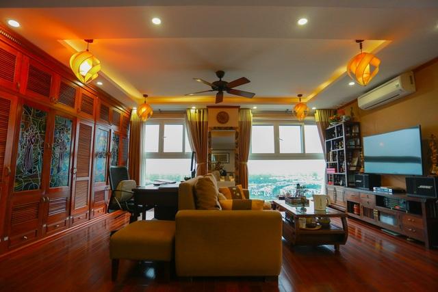 Mê mẩn căn penthouse với khu vườn ngập cây xanh đẹp hiếm có ở Hưng Yên - 1