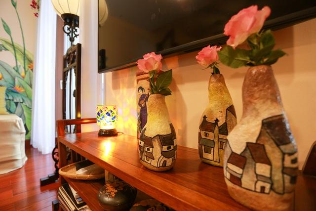 Mê mẩn căn penthouse với khu vườn ngập cây xanh đẹp hiếm có ở Hưng Yên - 6