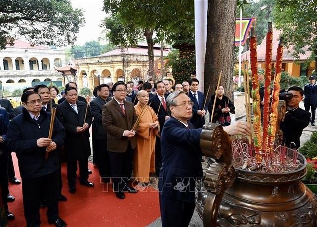 Lãnh đạo Đảng, Nhà nước dâng hương tại Hoàng thành Thăng Long - 1