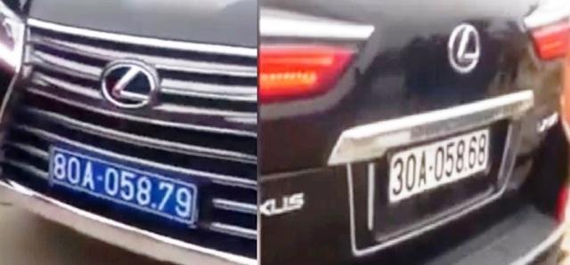Vụ xe Lexus mang 2 biển kiểm soát: Phạt 5 triệu đồng với tài xế - 1