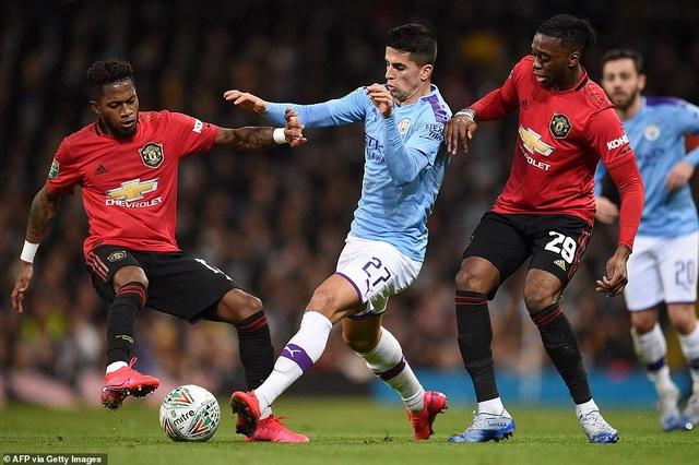 Man City 0-1 Man Utd: Matic ghi bàn và nhận thẻ đỏ - 4