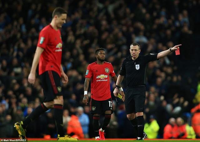 Man City 0-1 Man Utd: Matic ghi bàn và nhận thẻ đỏ - 6