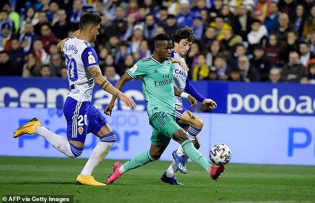 Thắng đậm Zaragoza, Real Madrid tiến vào tứ kết Cúp Nhà vua - 3