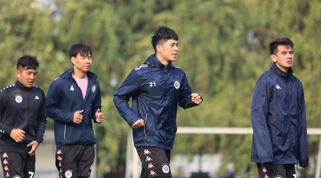 Quang Hải, Đình Trọng hứng khởi luyện tập ngày khai xuân - 6