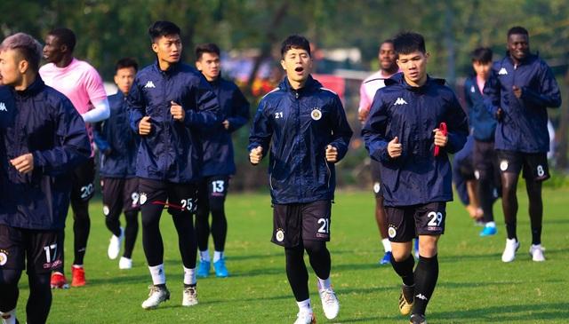 Quang Hải, Đình Trọng hứng khởi luyện tập ngày khai xuân - 4
