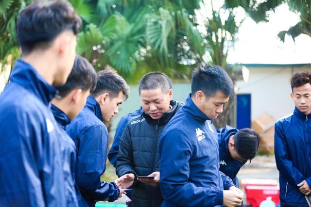 Quang Hải, Đình Trọng hứng khởi luyện tập ngày khai xuân - 1