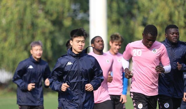 Quang Hải, Đình Trọng hứng khởi luyện tập ngày khai xuân - 7