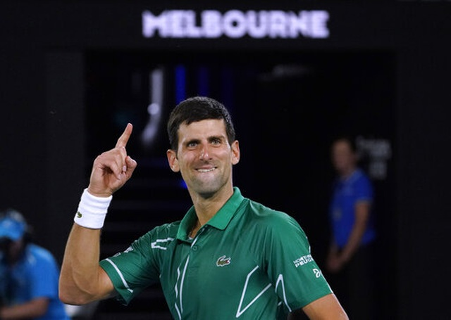 Australian Open:  Đánh bại Federer, Djokovic tiến vào chung kết - 1