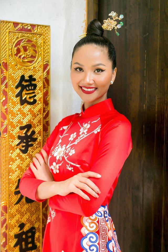 Hoa hậu H'Hen Niê tiết lộ tin vui đầu năm mới - 1