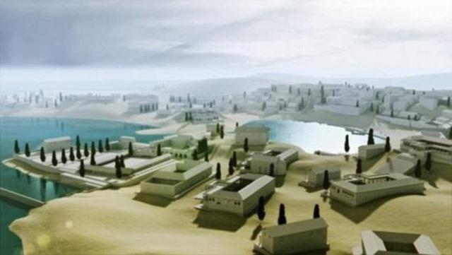"""Thành phố cổ """"dành cho tầng lớp siêu giàu"""" chìm gần 2000 năm dưới đáy biển - 2"""