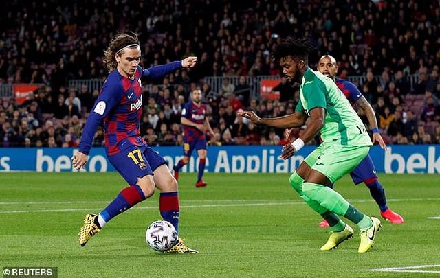 Messi và Griezmann tỏa sáng đưa Barcelona vào tứ kết Cúp Nhà vua - 1