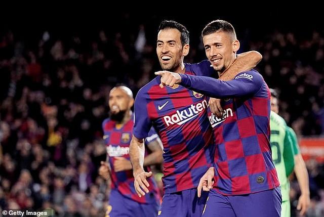 Messi và Griezmann tỏa sáng đưa Barcelona vào tứ kết Cúp Nhà vua - 2