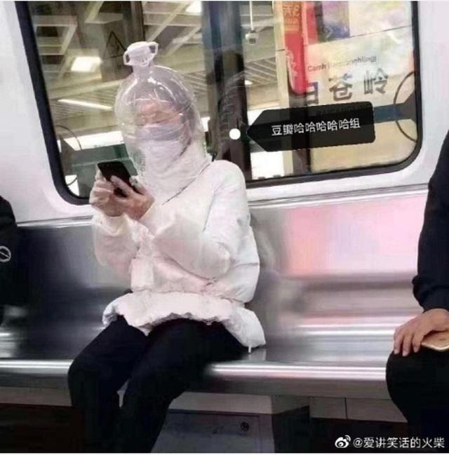 Dân Trung Quốc tuyệt vọng với mặt nạ tự chế do hết sạch khẩu trang - 6