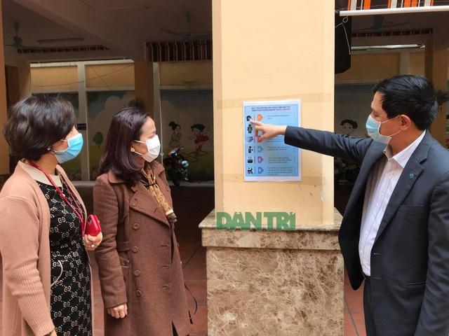 Hà Nội: Kiểm tra trường học phòng chống virus corona - 1