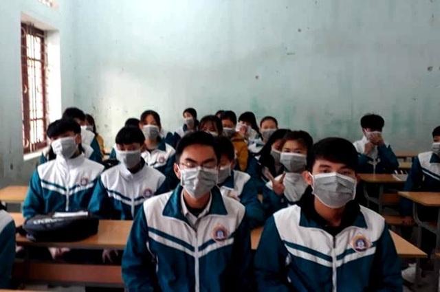 Thanh Hóa: Kiên quyết không để dịch Corona lây lan trong trường học - 1