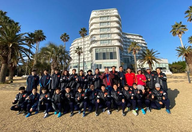 Đội tuyển nữ Việt Nam đến Hàn Quốc, tập luyện tại đảo Jeju - 3