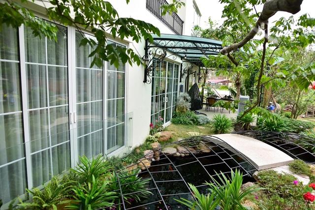 Mãn nhãn biệt thự vườn rộng 100m2 với hồ cá Koi đẳng cấp ở ngoại thành Hà Nội - 2