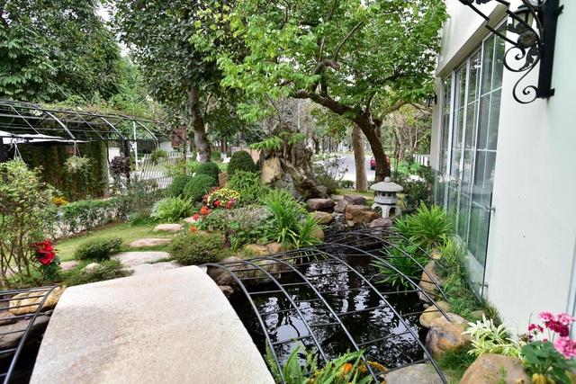 Mãn nhãn biệt thự vườn rộng 100m2 với hồ cá Koi đẳng cấp ở ngoại thành Hà Nội - 6