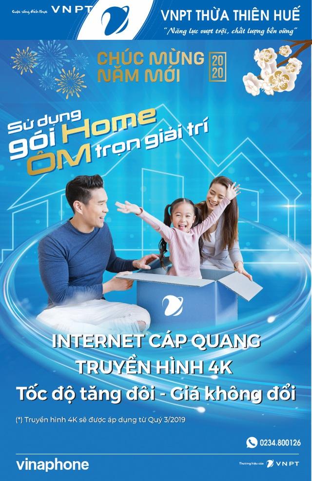 VNPT Thừa Thiên Huế chúc mừng năm mới Canh Tý 2020 - 2