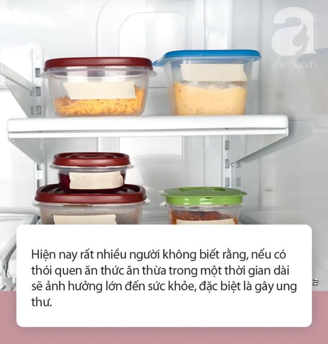 3 loại thức ăn thừa cần vứt bỏ, ngay cả bỏ tủ lạnh hay hâm nóng cũng vẫn gây bệnh - 1