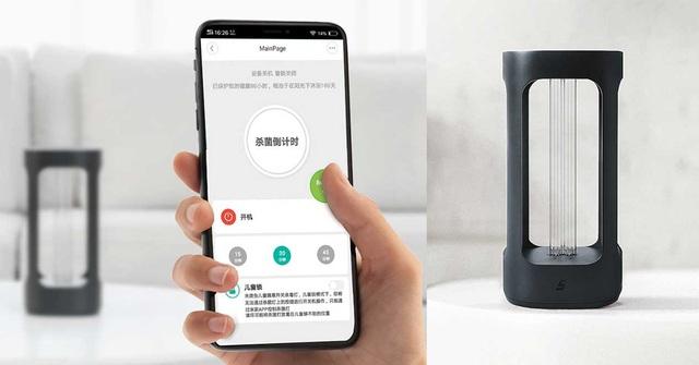 Xiaomi ra mắt đèn cực tím với khả năng diệt virus corona mới và vi khuẩn - 2