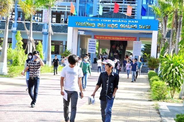 Trường ĐH Quảng Nam cho sinh viên nghỉ học 1 tuần để phòng virus Corona - 1