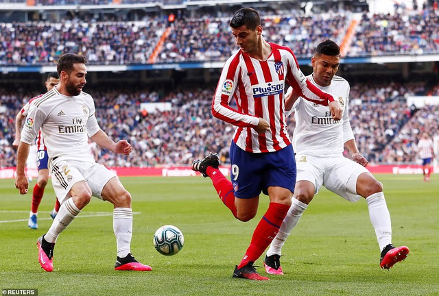 Những khoảnh khắc Real Madrid đánh bại Atletico và vững ngôi đầu La Liga - 5