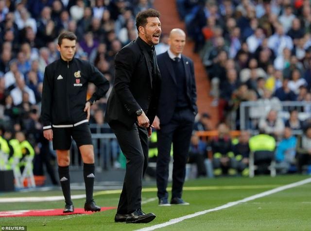 Những khoảnh khắc Real Madrid đánh bại Atletico và vững ngôi đầu La Liga - 10
