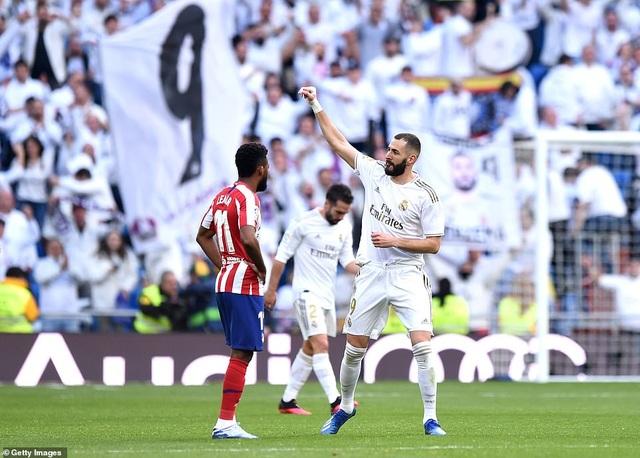 Những khoảnh khắc Real Madrid đánh bại Atletico và vững ngôi đầu La Liga - 13