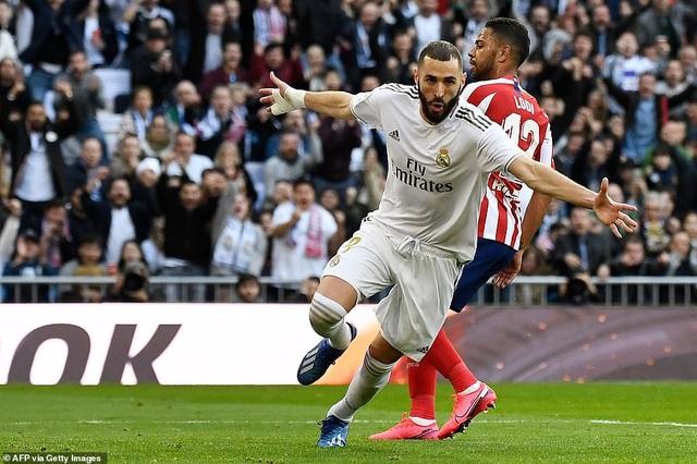 Những khoảnh khắc Real Madrid đánh bại Atletico và vững ngôi đầu La Liga - 12
