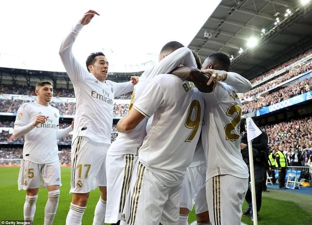 Những khoảnh khắc Real Madrid đánh bại Atletico và vững ngôi đầu La Liga - 11