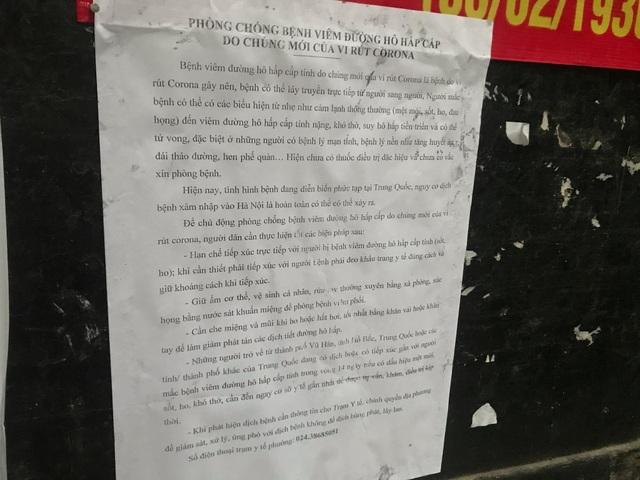 Chung cư Hà Nội treo cảnh báo, phục vụ nước rửa tay miễn phí chống dịch corona - 5