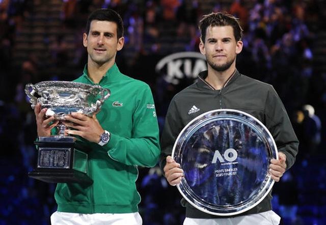 Vượt qua Thiem, Djokovic lần thứ 8 vô địch Australian Open - 1