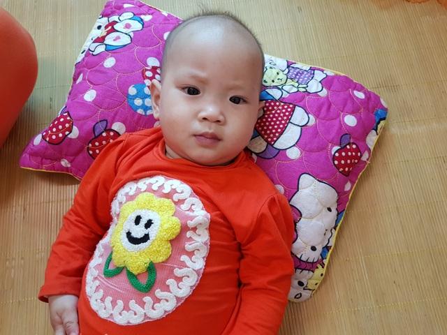 Mong manh tính mạng bé 10 tháng tuổi mắc tim bẩm sinh phức tạp - 1