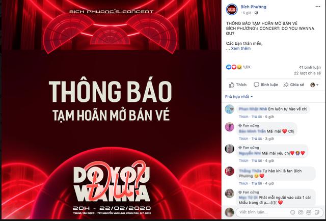 NSND Hồng Vân đóng cửa sân khấu, Bích Phương hủy lịch bán vé concert vì dịch cúm corona - 5