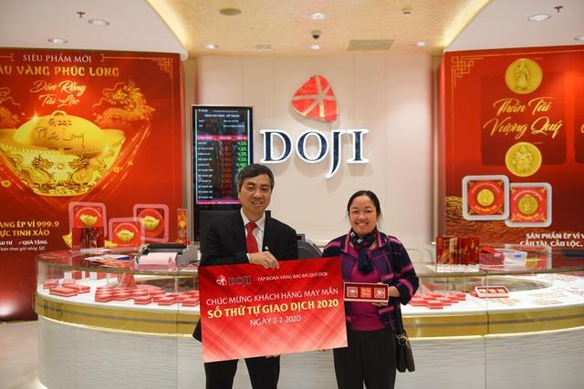 Ngày đặc biệt trong năm: DOJI tặng 2 chỉ vàng cho khách hàng may mắn - 1