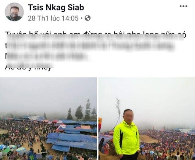 Công an triệu tập người tung tin 3 người chết vì Corona ở Lào Cai - 1