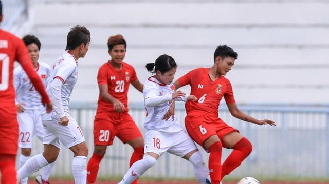 Đội tuyển nữ Việt Nam - Myanmar: Thắng để giành quyền đi tiếp - 1